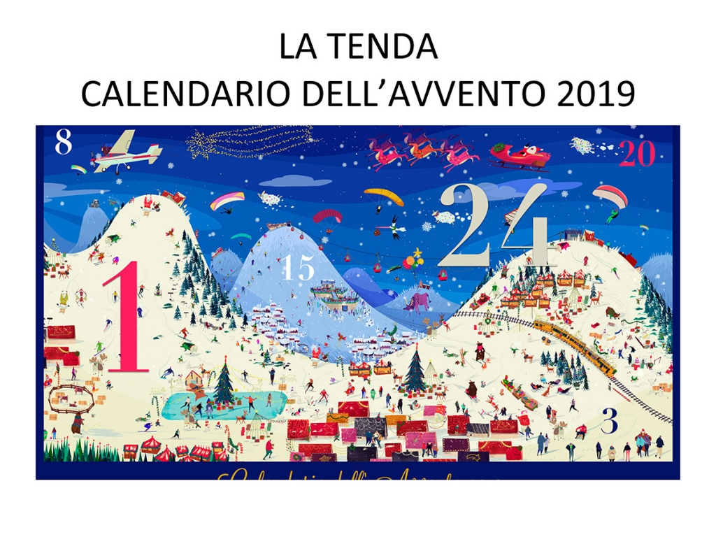 HIBOURAMA LA TENDA CALENDARIO DELL'AVVENTO