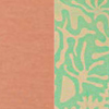 Pink Linen & Green Silk